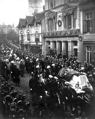 Funeral procession of Queen Victoria, February 1901
